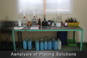 Analysis of Plating Solutions